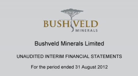 Bushveld Iron Ore Project Competent Person's Report – April 2013