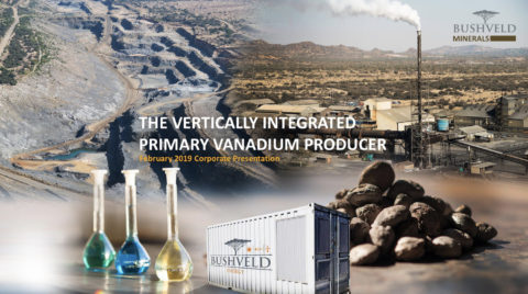 Bushveld Minerals February 2019 Corporate Presentation