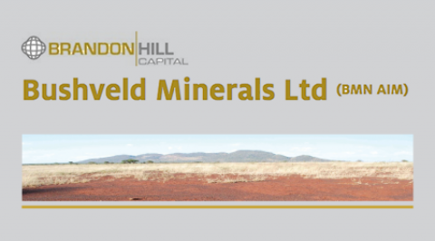 Bushveld Minerals – Re-Initiating coverage