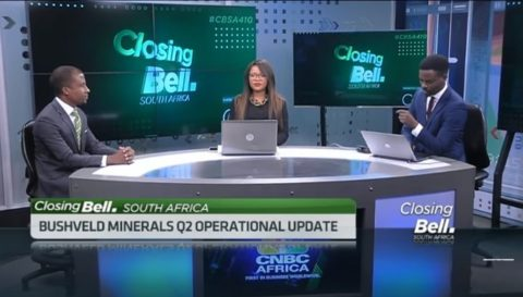 Bushveld Minerals CEO Fortune Mojapelo on the importance of energy storage