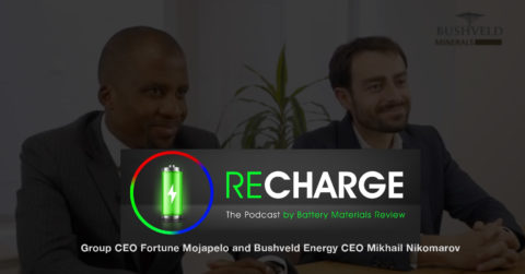 Recharge by Battery Materials Review
