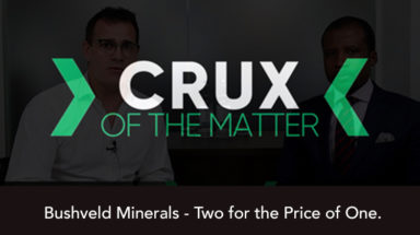 Bushveld Minerals - Two for the Price of One