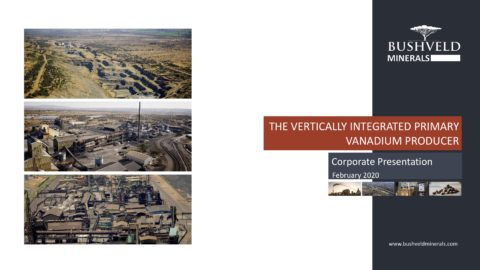 Bushveld Minerals – BMO Metals and Mining Conference Corporate Presentation
