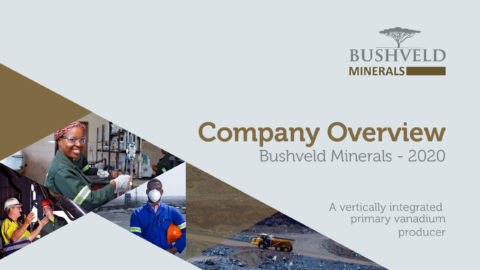 Bushveld Minerals Limited – Company Overview 2020
