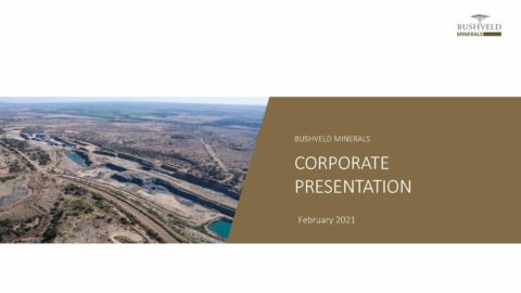 Bushveld Minerals – Corporate Presentation 2021