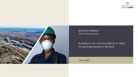 Bushveld Minerals 2020 Full Year Results and 2021 Outlook
